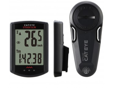 Cateye Strada Wireless Slim CC-RD310W bike computer black