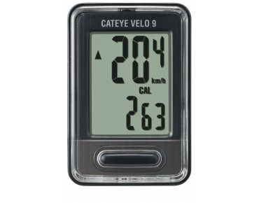 Cateye Velo 9 bike computer black