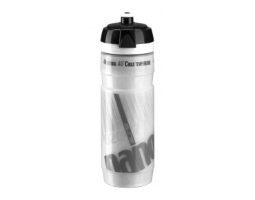 Elite Nanogelite thermal drinks bottle weiß/grau