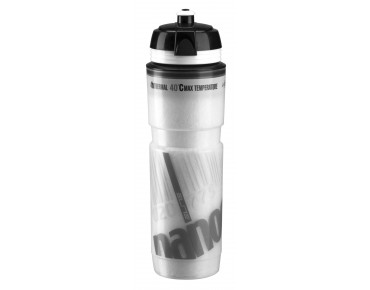 Elite Nanogelite thermal drinks bottle white/grey