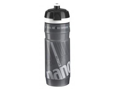 Elite Nanogelite thermal drinks bottle grau/weiß