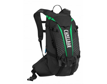 CamelBak K.U.D.U. 12 backpack incl. protector - test winner MountainBIKE 11/2014 - black/andean toucan