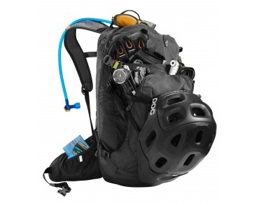 CamelBak H.A.W.G. NV backpack with hydration system charcoal
