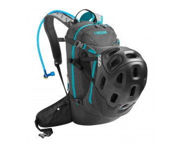 CamelBak M.U.L.E. NV backpack with hydration system charcoal/atomic blue