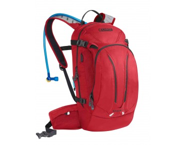 CamelBak M.U.L.E. NV backpack with hydration system barbados cherry/charcoal