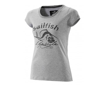sailfish LIFESTYLE women's T-shirt grey