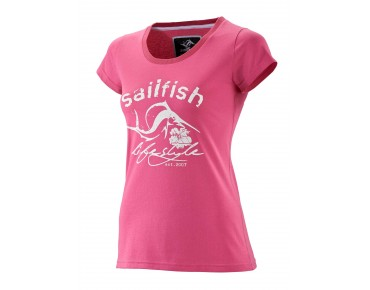 sailfish LIFESTYLE women's T-shirt pink