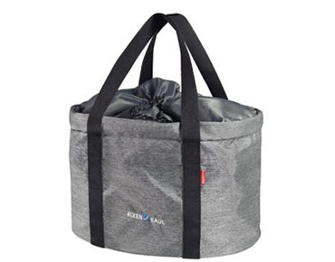 Rixen & Kaul SHOPPER PRO bike basket grey
