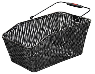 Rixen & Kaul STRUCTURA GT rear bicycle basket for racktime racks black