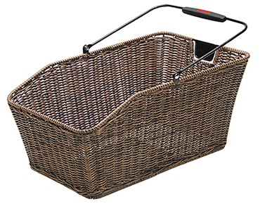 Rixen & Kaul STRUCTURA GT rear bicycle basket for racktime racks brown EF