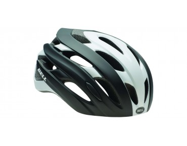 BELL EVENT Rennradhelm matte black/white road block