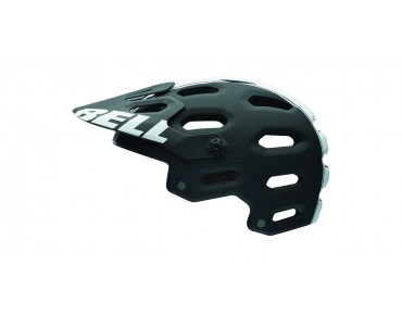 BELL SUPER 2 - casco MTB matte black/white viper
