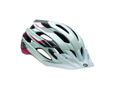 BELL EVENT XC  MTB-Helm white/black/red speed fade