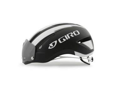 GIRO AIR ATTACK SHIELD aero helmet matte black/white