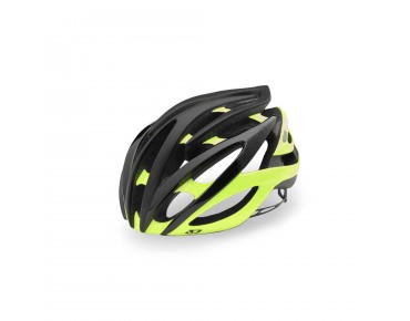 GIRO ATMOS II road helmet matte black/highlight yellow