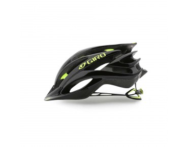 GIRO FATHOM MTB-Helm black/highlight yellow