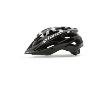 GIRO RAZE Kinderhelm black/white hearts