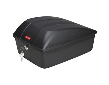 KLICKfix BIKE BOX for permanent installation schwarz
