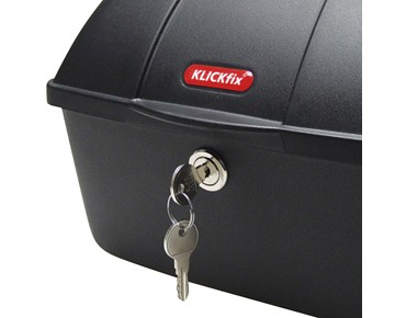 KLICKfix BIKE BOX for permanent installation black