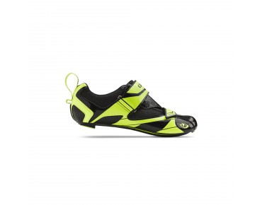 GIRO MELE TRI triatlonschoenen black/highlight yellow