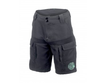 ROSE DOWN KIDS kids' bike shorts black/green