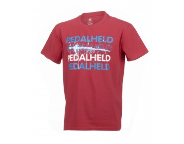 ROSE PEDALHELD t-shirt red