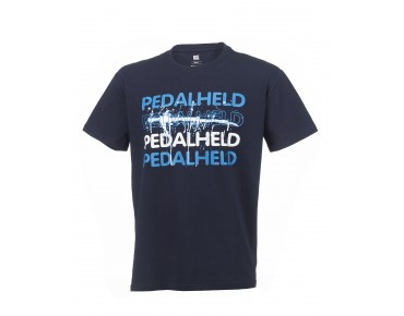ROSE PEDALHELD t-shirt navy