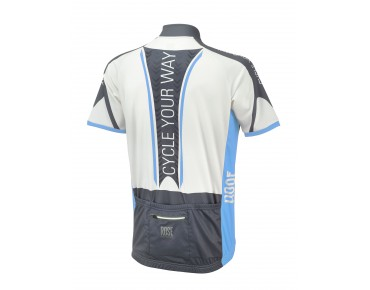 LIGHT PRO short-sleeved jersey black/sky