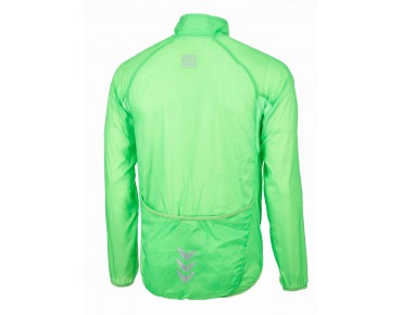 ROSE WINDBREAKER jacket fluo green