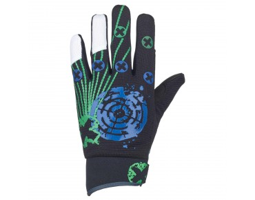 ROSE FR III - guanti black/green/blue