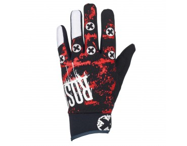 ROSE FR III Langfinger-Handschuhe red/black/white
