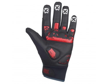 ROSE FR III full-finger gloves red/black/white