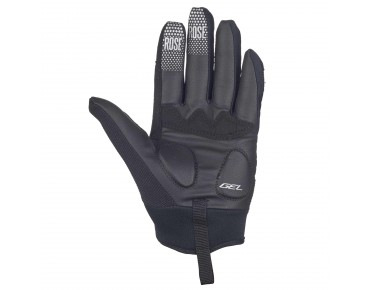 ROSE GEL III full-finger gloves black
