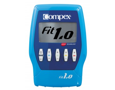 Compex Fit 1.0 muscle stimulator blue