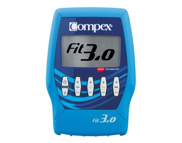 Compex Fit 3.0 muscle stimulator blue