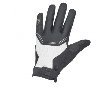 ROSE MTB STRIPES III full-finger gloves black/white