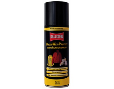 Ballistol Biker-Wet-Protect waterproofing spray