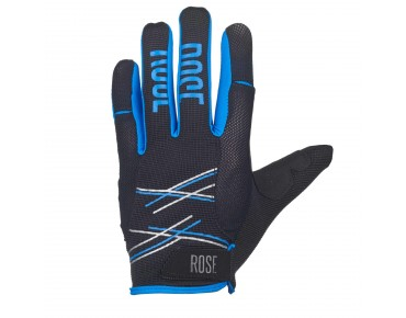 ROSE FR PURE full-finger gloves black/blue