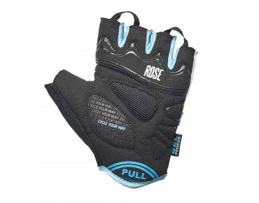 ROSE RSH GEL 03 gloves black/white/sky