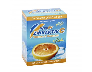 Xenofit Zinkaktiv C hot drink grapefruit