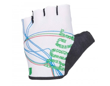 ROSE LINES LADY gloves white/green