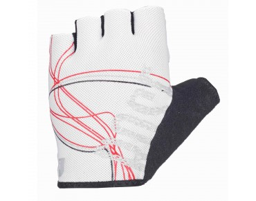 ROSE LINES LADY gloves white/grey