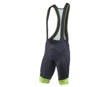 ALÉ ULTRA VAR. bib shorts black/fluo yellow