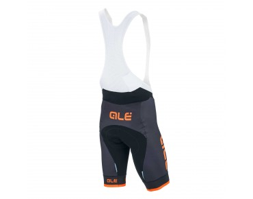 ALÉ GRAPHICS GRENADA Trägerhose black/orange