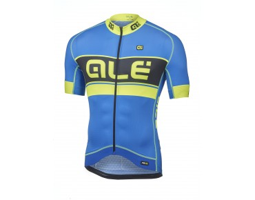ALÉ GRAPHICS PRR BERMUDA jersey blue/yellow fluo
