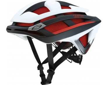 smith optics OVERTAKE helmet matte red white