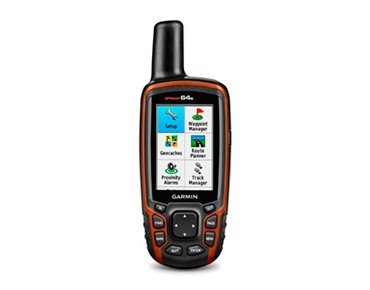Garmin GPSMAP64s navigation device black