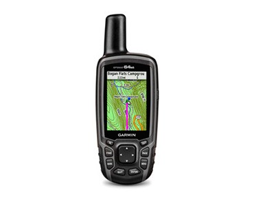 Garmin GPSMAP64st navigation device incl. leisure map Europe black