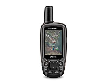Garmin GPSMAP64st navigation device incl. leisure map Europe schwarz