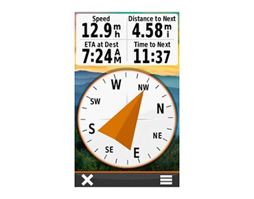 Garmin Oregon 600 navigation device